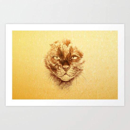 KITTEE Art Print