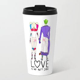 LOVE is no BUTT Joke - Handwritten Travel Mug