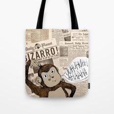 Bizarro Monkey Tote Bag