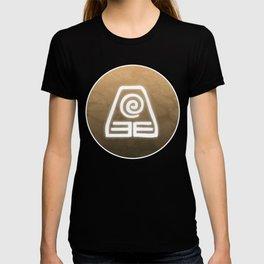 Avatar Earth Bending Element Symbol T-shirt