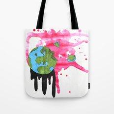 Broken Earth  Tote Bag