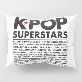 KPOP Superstars Original Boy Groups Merchandse Pillow Sham