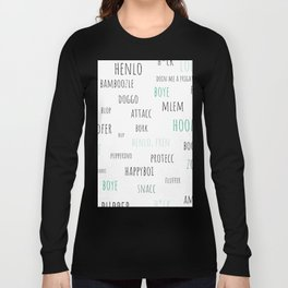 Doggo Speak Long Sleeve T-shirt