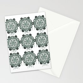 Bejewelled pattern Stationery Cards