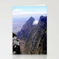 south africa Stationery Cards featuring South Africa Impression 4 by Art-Motiva