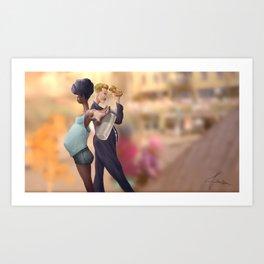 Parents In Action Art Print