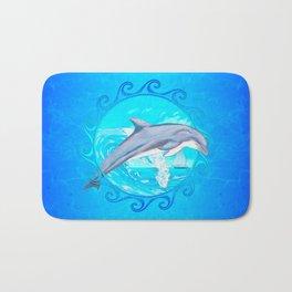 Dolphin Maori Sun Bath Mat