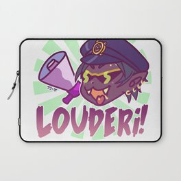 Mitsuru wants you to be louder!! Laptop Sleeve