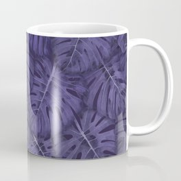 ULTRA VIOLET MONSTERA, by Frank-Joseph Coffee Mug