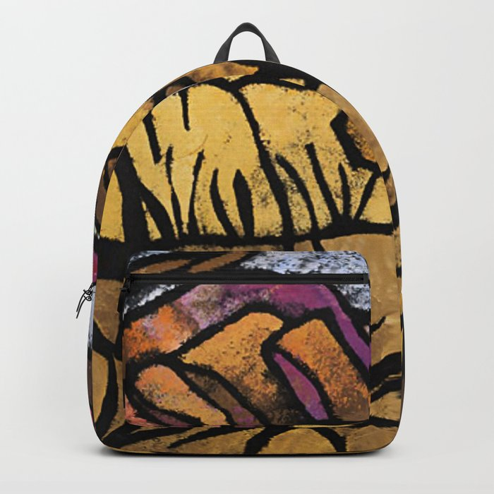 a mile out of alice spings margaret preston backpack by