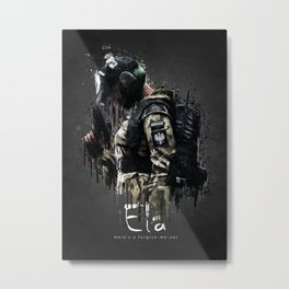 Ela Metal Print