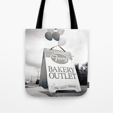 Bakery outlet sign Tote Bag