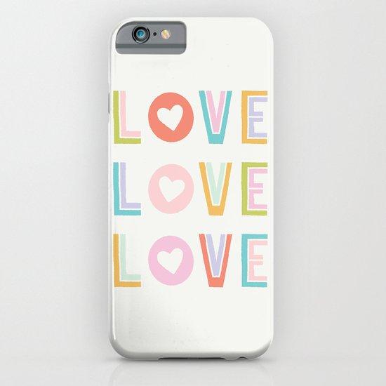 Love x3 iPhone & iPod Case