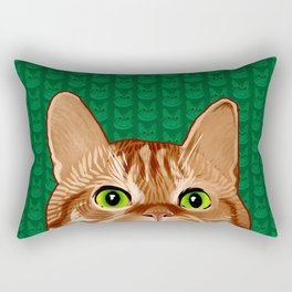 Roswell the Cat Rectangular Pillow
