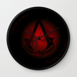 Everything is Permitted Wall Clock