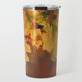 Autumn Leaf (Color) Travel Mug