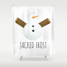 Jacked Frost Shower Curtain