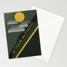 Le Tour de France Poster Stationery Cards