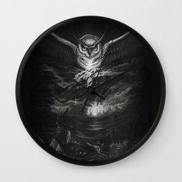 BounD Owl/Moloch  Wall Clock