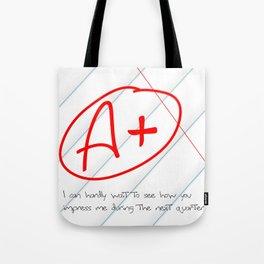 A+ Tote Bag