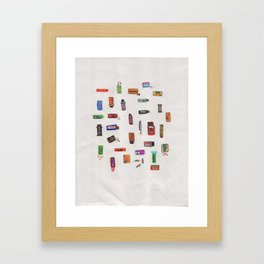Sugar Rush Framed Art Print