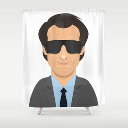 Dirty Harry Shower Curtain