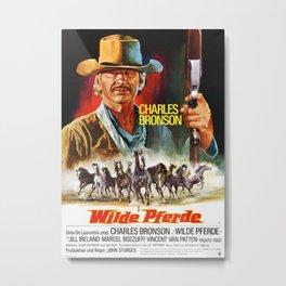 Vintage Movie Poster Metal Print