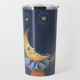 James the moon man Travel Mug