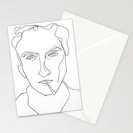 Silent smoker Stationery Cards