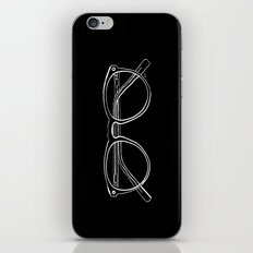 Spectacles (Inverse) iPhone & iPod Skin