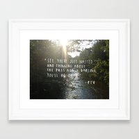 pierce the veil Framed Art Prints featuring Hold On Til May - Pierce the Veil (River) by riseagainstyourfate