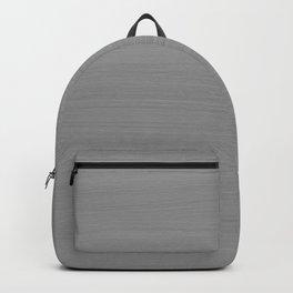 Soft Light Grey Brushstroke Texture Backpack