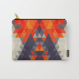 Abstract Triangle Mountain Carry-All Pouch