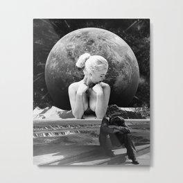 Worlds Apart Metal Print