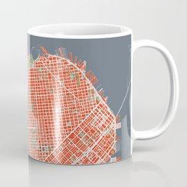 San Francisco city map classic Coffee Mug