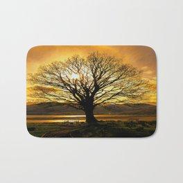 Tree of Fire Bath Mat