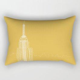 NYC by Friztin Rectangular Pillow