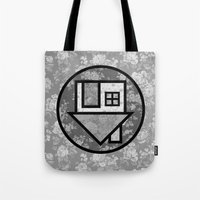 the neighbourhood Tote Bags featuring THE NEIGHBOURHOOD by Meuphrosyne