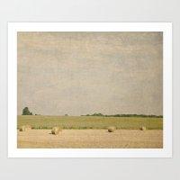 farm Art Prints featuring Farm by Pure Nature Photos