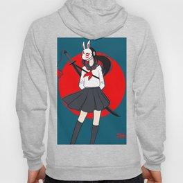 Kitsune Bunny Warrior Hoody
