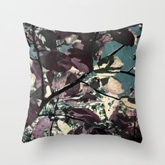 Cool Fall Leaves Throw Pillow