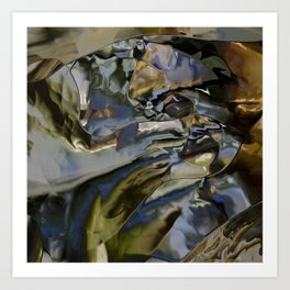 The ground is made of glass Art Print