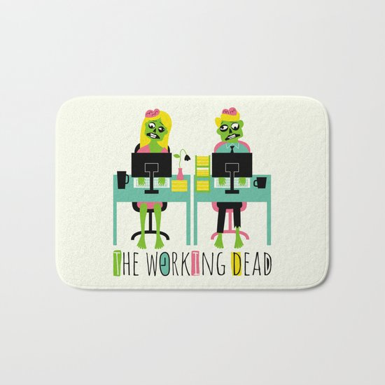 The working dead Bath Mat