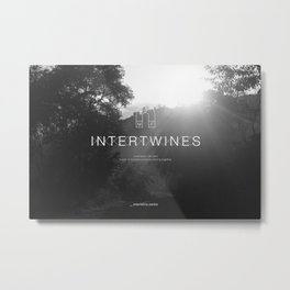 Intertwine Metal Print