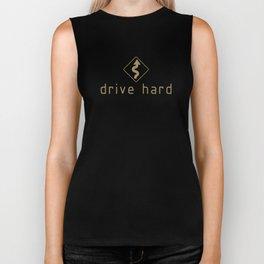 Drive Hard v4 HQvector Biker Tank