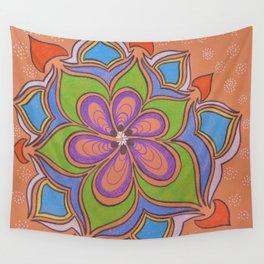 Drops and Petals 4 Wall Tapestry