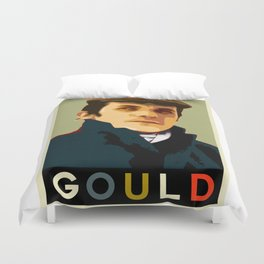 Glenn Gould Duvet Cover