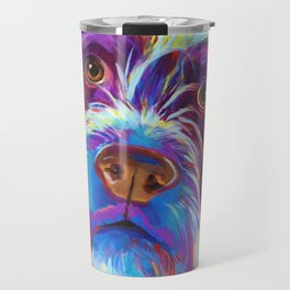 Wirehaired Griffon or Labradoodle Travel Mug