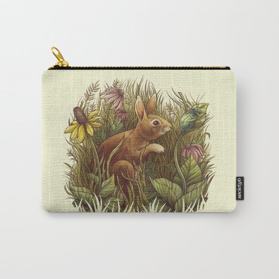 The Cottontail and the Katydid Carry-All Pouch
