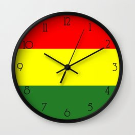 IRIE RASTA Wall Clock